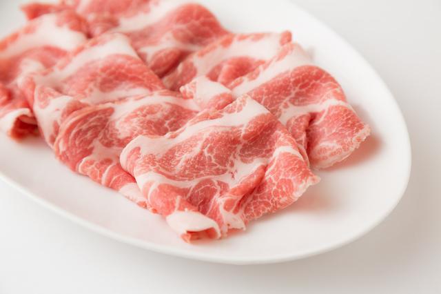 豚ロース肉,離乳食,豚肉,