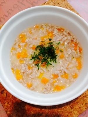 離乳食中期 野菜とひき肉のトロトロスープ,離乳食,豚肉,