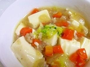離乳食後期◎野菜たっぷりマーボー豆腐,離乳食,豚肉,