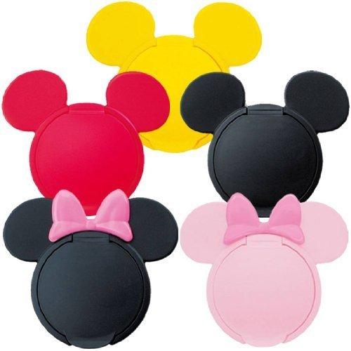 ディズニーの魔法のふた 5個セット ミッキー&ミニー (各色1個ずつ5個セット),おしりふき,フタ,