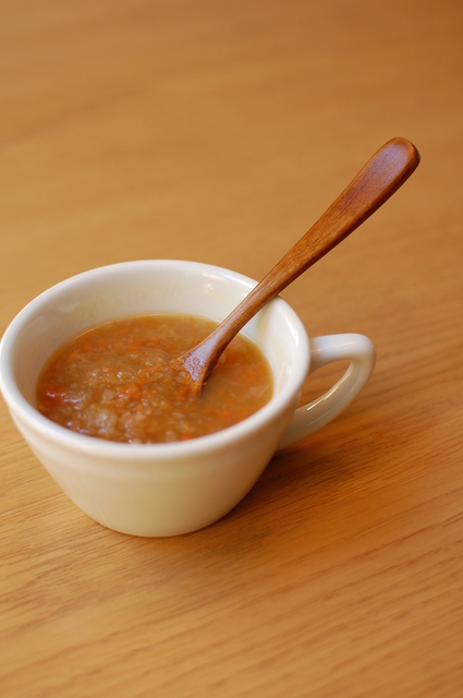 野菜スープ,離乳食,玉ねぎ,