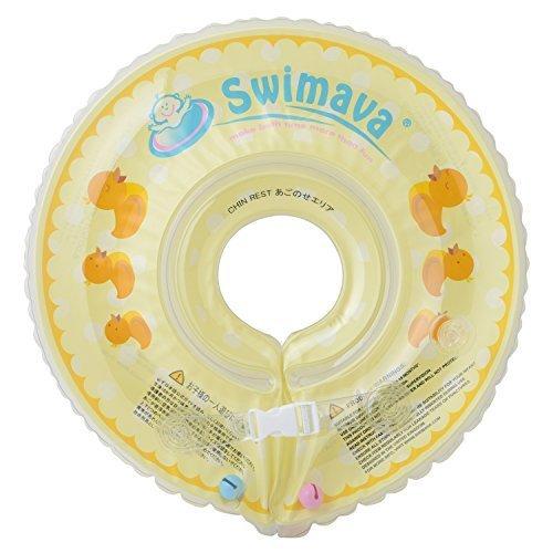 Swimava 【日本正規品60日保証】うきわ首リング(ダックイエロー) SW120DU,赤ちゃん,お風呂,