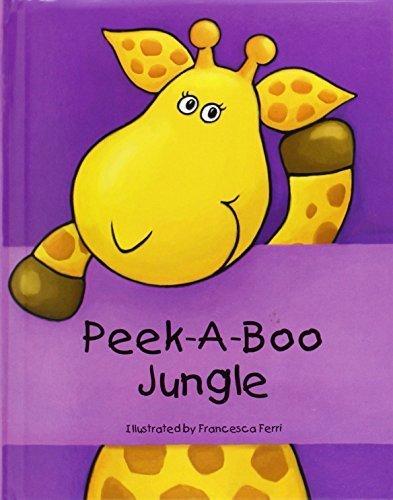 Peek-a-boo Jungle,絵本,おすすめ,1歳