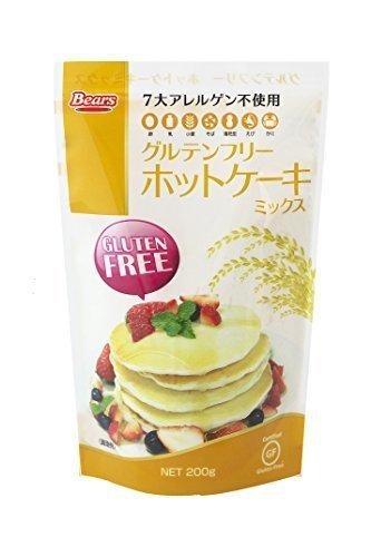 グルテンフリーホットケーキミックス 200g,離乳食,パンケーキ,