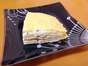 きな粉ミルクレープ(・Д・)ノ1歳児用,離乳食,パンケーキ,