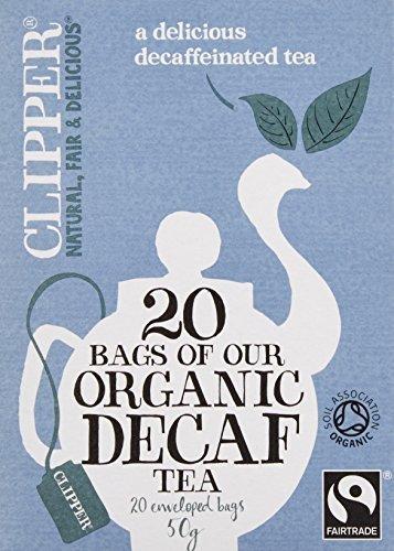〔認定〕 クリッパー アッサムブレンド カフェインレス 50g (20×2.5gティーバッグ),ノンカフェイン,飲み物,