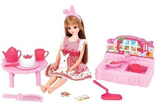 リカちゃん ドール LD-16 おしゃべりリカちゃん お人形あそびデビューセット,4歳,誕生日プレゼント,