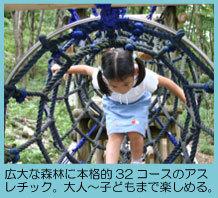 もみのき森林公園のアスレチック,アスレチック,広島,