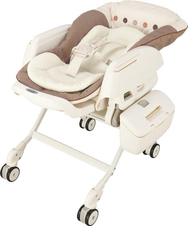 コンビ Combi ハイローベットチェアー ネムリラ AUTO SWING エッグショック BE ココアブラウン (新生児~4歳頃対象) サイレントスウィング機能搭載,二人目 ,出産,必需品