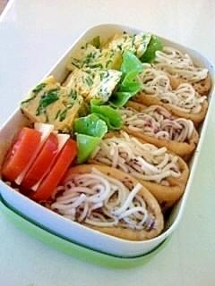 暑い日の思いやり♪素麺弁当,お弁当,麺,