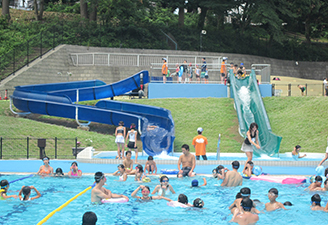 県立保土ケ谷公園のプール,スライダー,プール,神奈川