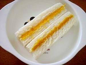 離乳食☆かぼちゃヨーグルトサンド♪,離乳食,ヨーグルト,