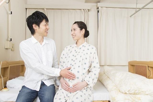 妊婦さんとパートナー,