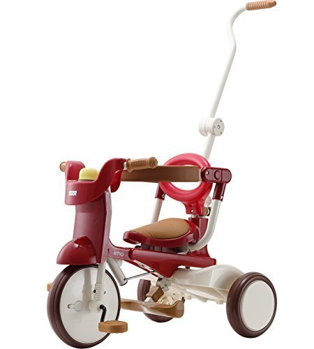 三輪車 iimo tricycle 02 エタニティ・レッド 1040,三輪車,