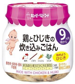 キューピー ベビーフード 鶏とひじきの炊き込みごはん 100g,離乳食,鉄分,