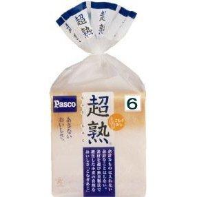 パスコ PASCO 超熟 6枚切,離乳食,食パン,
