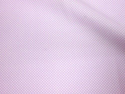 LECIEN (ルシアン) Color Basic 1mm ドット シーチング 生地 綿100% 約110cm巾×1mカット col.PU パープル 4503,ランチマット,手作り,