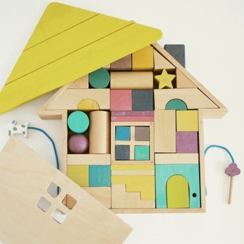 tsumiki(積み木)木の玩具 ドイツ gg kiko,積み木,いつから,おすすめ