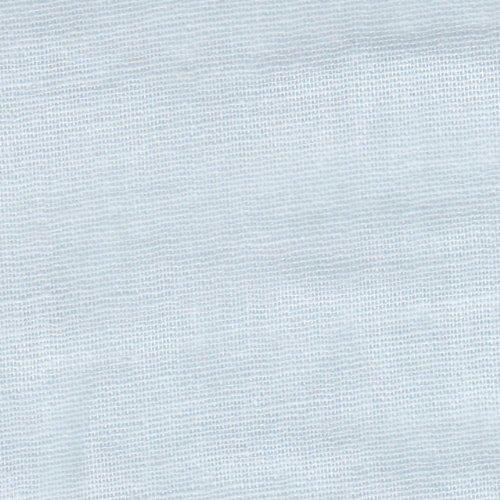 【無地 綿二重ガーゼ・ダブルガーゼ】むじっ子 14色あります 1m単位で切り売りいたします (サックスブルー),手作り,マスク,
