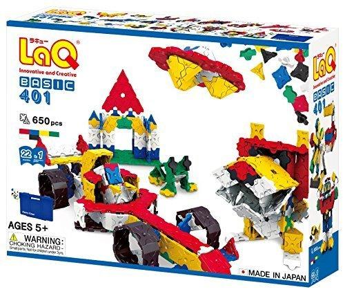 ラキュー(LaQ)ベーシック401(Basic 401),知育玩具,5歳,おすすめ