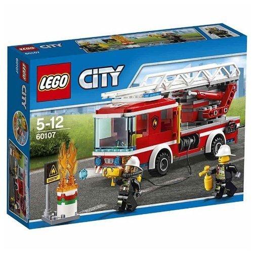 レゴ (LEGO) シティ はしご車 60107,知育玩具,5歳,おすすめ