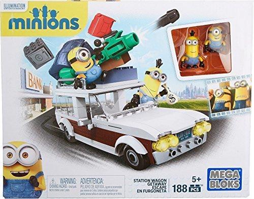 メガブロック (MEGABLOKS) ミニオンズ ステーションワゴン 188 ピース CNF56,知育玩具,5歳,おすすめ