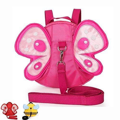 MyArmor 子供 リュック サック 迷子防止ひも リード付き ぬいぐるみ リュック ハーネス(ピンク),子ども,ハーネス,
