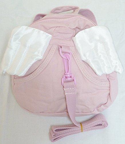 タイプ いろいろ 人ごみ も 安心 迷子 防止 ハーネス 付き 可愛い リュック サック (天使の羽+ピンク),子ども,ハーネス,