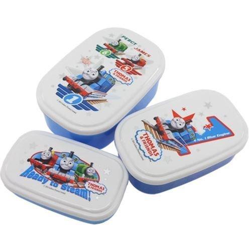 オーエスケー きかんしゃトーマス(No.2) シール容器 3Pセット SP-31,幼稚園,お弁当箱,