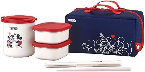 サーモス 保温弁当箱 約0.6合 ディズニー ネイビーレッド DBQ-253DS NV-R,幼稚園,お弁当箱,
