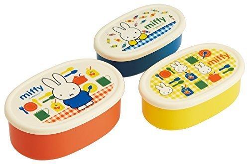 スケーター シール容器 保存容器 弁当箱 小物入れ 3P ミッフィー 15 SRS3S,幼稚園,お弁当箱,