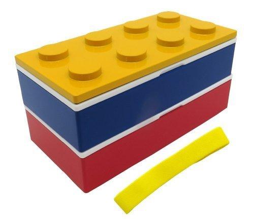 トリオブロック弁当箱YE,幼稚園,お弁当箱,