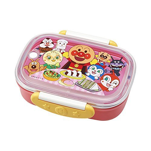 アンパンマン ロック式 おべんとう箱 ( 360ml ) ピンク KK-331,幼稚園,お弁当箱,