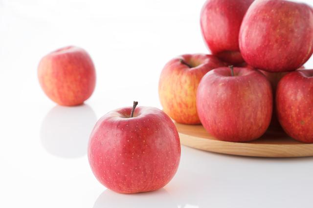 外国のりんご売り場,離乳食,りんご,