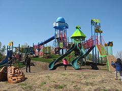 さいたま水族館隣接 羽生水郷公園の遊具,水族館,さいたま,