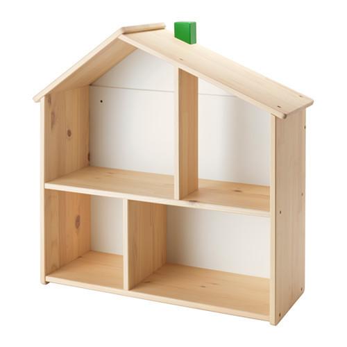 FLISAT ドールハウス/ウォールシェルフ,おもちゃ,収納,IKEA