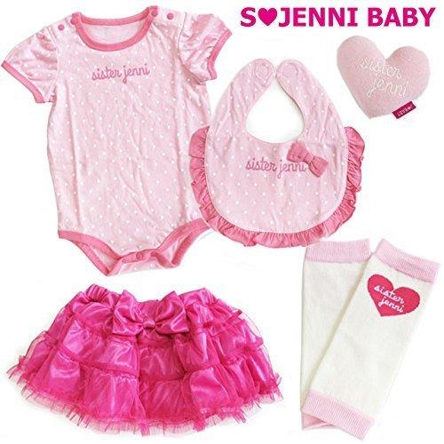 (ジェニィベビー)JENNIBABY ベビーギフト5点セット/ピンク 80cm,出産祝い,ベビー服,女の子