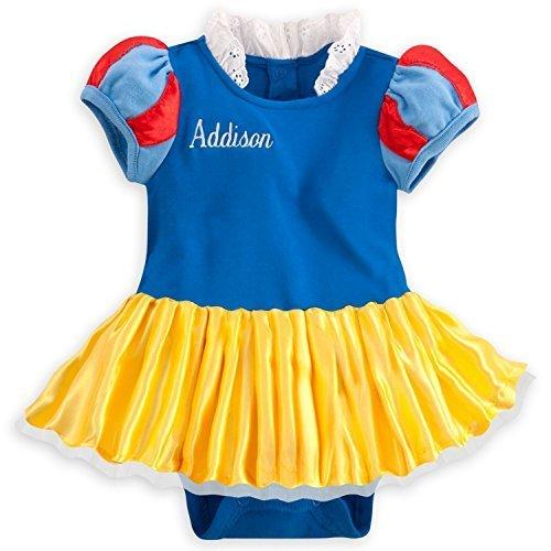 (ディズニー) Disney プリンセス 半袖 Snow White 白雪姫 ベビードレス ヘアバンド コスチューム 衣装 スカート付ボディースーツ ディズニーストア 12-18ヶ月(74-79cm) [並行輸入品],出産祝い,ベビー服,女の子