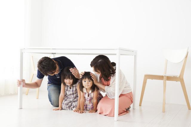 避難訓練 家族,避難,訓練,