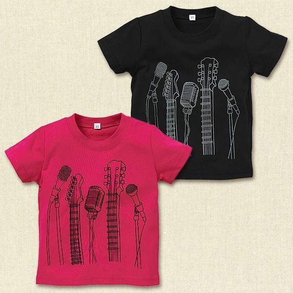 ギター&マイクプリント半袖Tシャツ,西松屋,子供服,