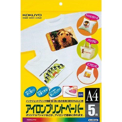 コクヨ インクジェットプリンタ用紙 アイロンプリントペーパー A4 5枚 KJ-PR10N,マタニティ,ロゼット,