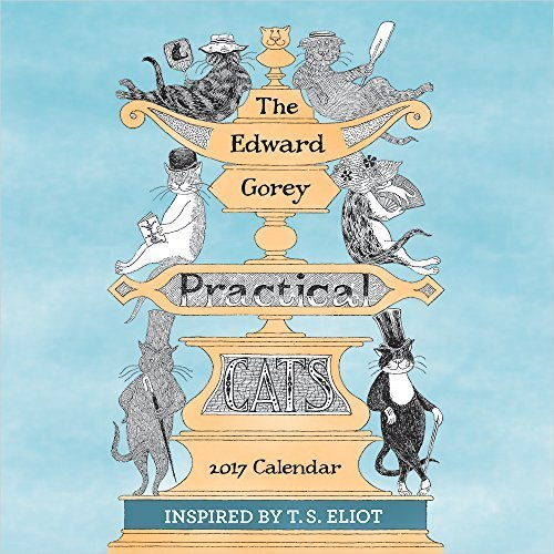 The Edward Gorey Practical Cats 2017 Calendar,エドワードゴーリー,絵本,