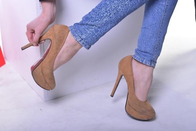 ハイヒール,GU,靴,