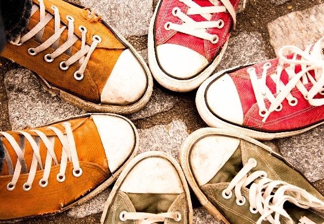 スニーカー,GU,靴,