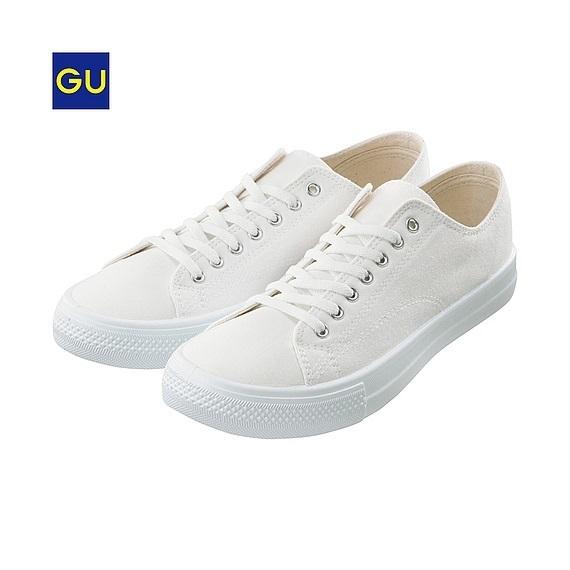 キャンバスシューズB,GU,靴,