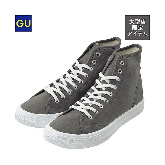 ハイカットスニーカー,GU,靴,