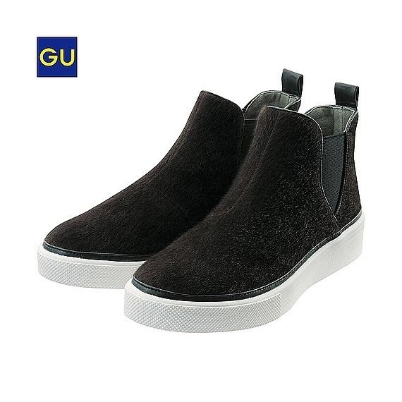 サイドゴアスニーカーA,GU,靴,