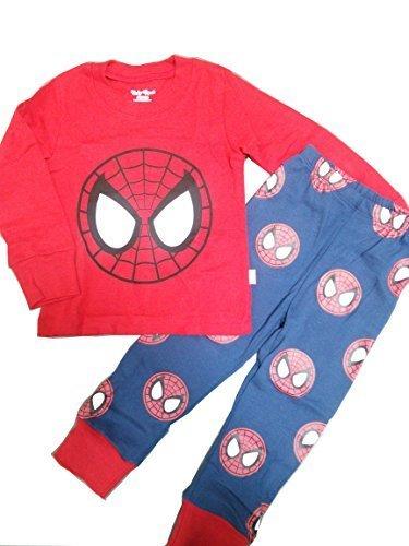 (スマートキッズ) SMARTKIDS綿100%男の子パジャマ上下セット スパイダーマン柄長袖 (100cm/4T),キッズパジャマ,男の子,おすすめ