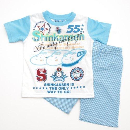 サンリオ しんかんせん 半袖パジャマ スカイブルー(331SS-A),キッズパジャマ,男の子,おすすめ
