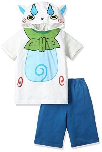 (バンダイ)BANDAI 変身半袖パジャマ妖怪ウォッチ男児A100cmクリーム 2328635-A3 クリーム 100,キッズパジャマ,男の子,おすすめ
